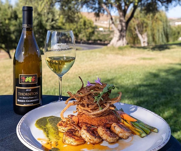 Cafe Champagne Restaurant Temecula Valley Wine Country