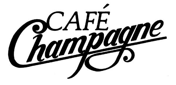 Café Champagne Restaurant Logo