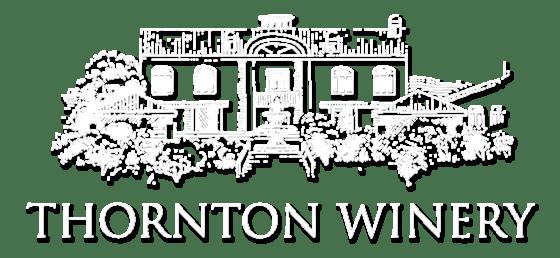 Thornton Winery logo white