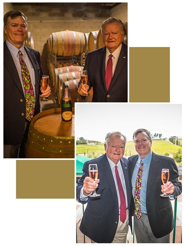 Steve and John Thornton photo Thornton Winery Temecula
