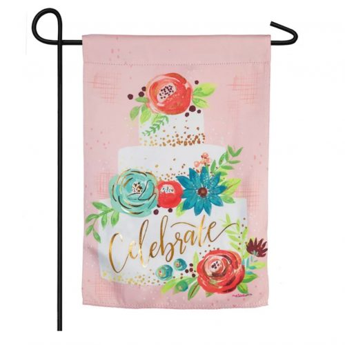 Celebrate Layer Cake Garden Flag