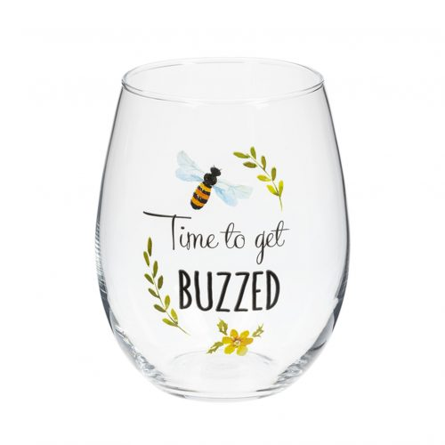 Stemless Wine Glass - Time to get buzzed