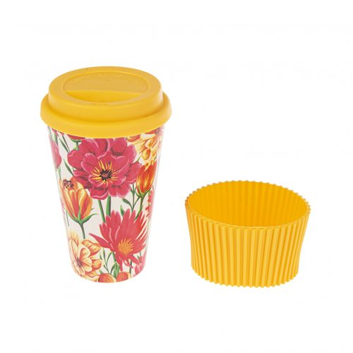 Travel Mug - Bamboo Fiber Yellow