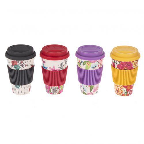Travel Mugs - Bamboo Fiber