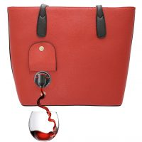 Wine Purse Red