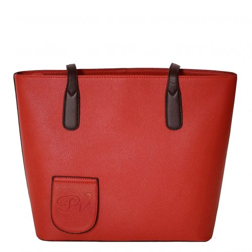 Wine Purse Red back