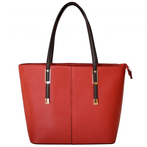 Wine Purse Red front