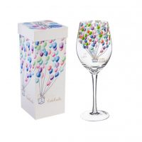 Celebrate Balloons - Stemmed Wine Glass