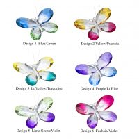 Colorful Butterflies Ornament ACRY-328