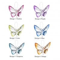 Hanging Dipped Butterflies Ornament ACRY-583