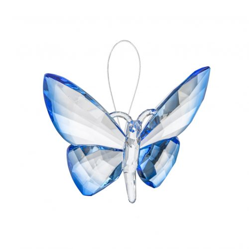 Hanging Dipped Butterflies Ornament Blue acry-583_4