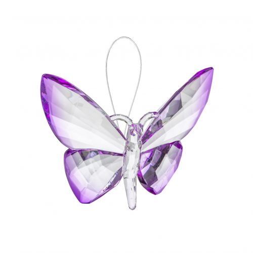 Hanging Dipped Butterflies Ornament Purple acry-583_2