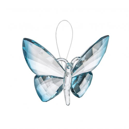 Hanging Dipped Butterflies Ornament Turquoise acry-583_5