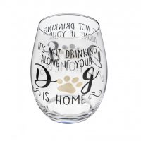 It's Not Really Drinking Alone If the Dog's Home
