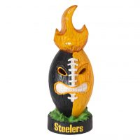 Pittsburgh Steelers Lit Tiki Totem