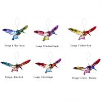 Rainbow Hummingbird Ornament