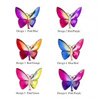 Sitting Rainbow Butterflies