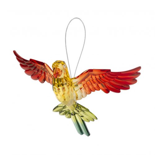 Tropical Parrot Ornament Red-Yellow-Green